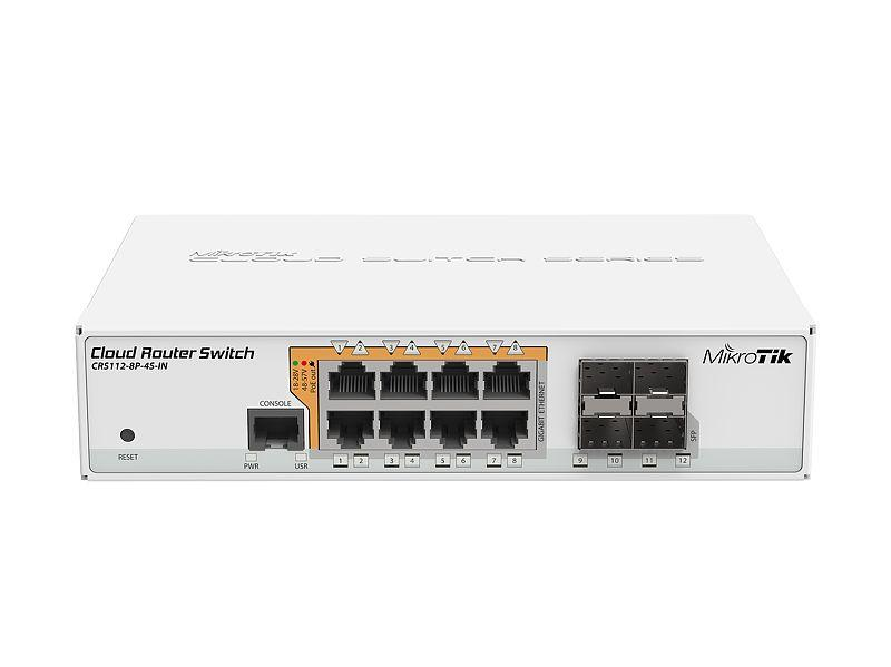 MikroTik CRS112-8P-4S-IN with poe-out and with Rouuter Firewall ürün fiyat/ fiyatı, satış, Hemen Al, Sepete Ekle